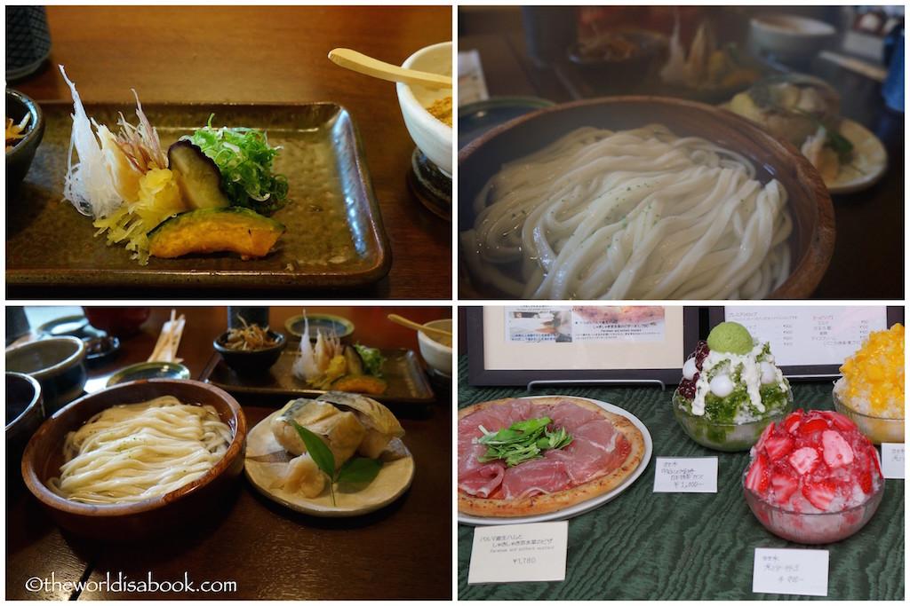 Higashiyama District Kyoto food