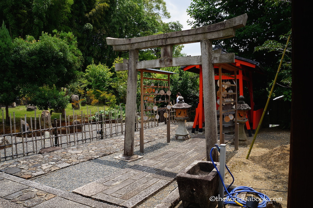 Higashiyama District torii gate Kyoto