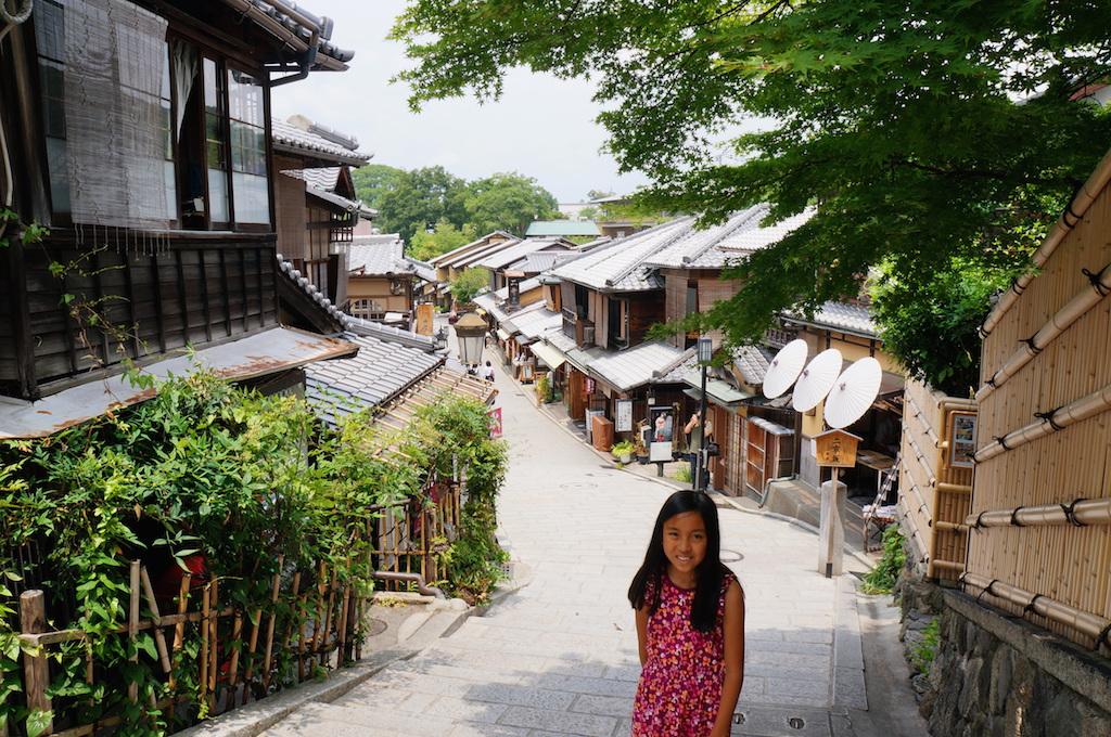 Higashiyama Kyoto with kids
