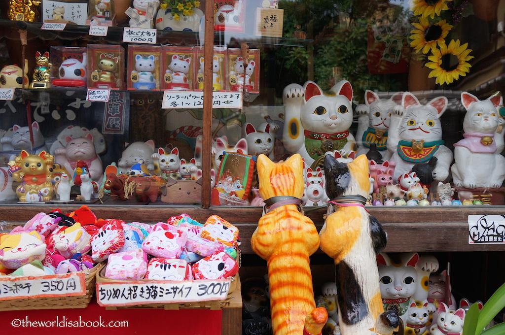 Kyoto Cat Souvenirs