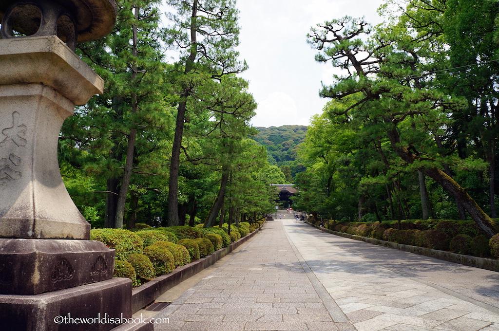 Kyoto Temple path