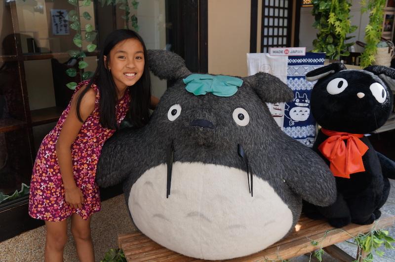 Kyoto with Kids Totoro Kiki