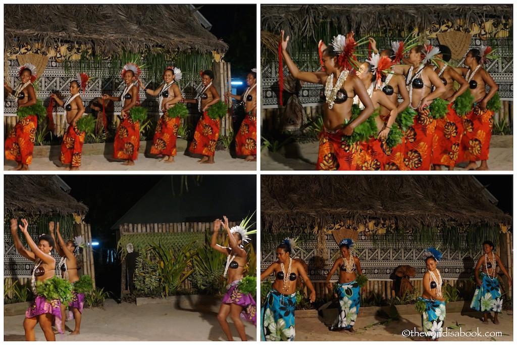 Robinson Crusoe Island Fiji dancers