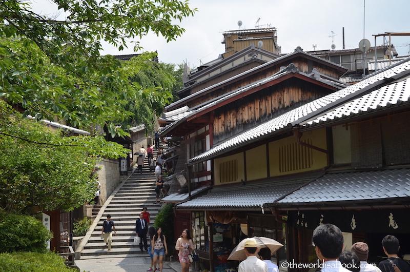 Sannenzaka slope Kyoto