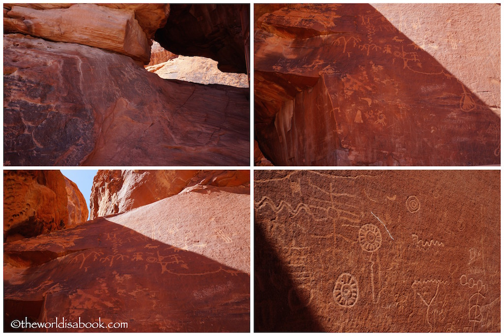 Valley of Fire State Park petroglyphs