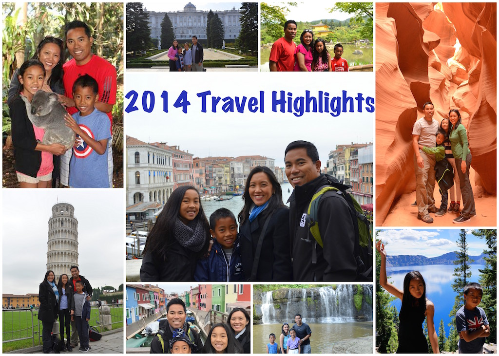 2014 Travel Highlights