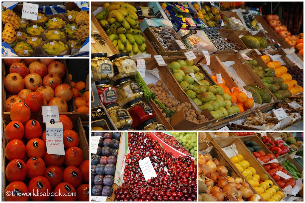 Mercado de San Miguel fruits