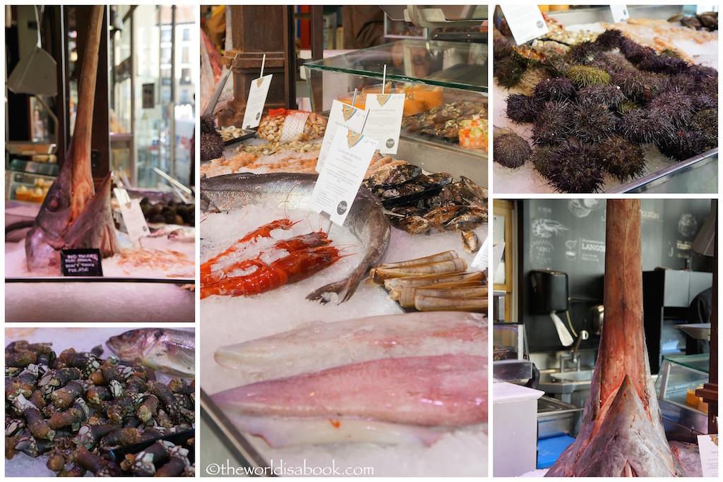Mercado de San Miguel seafood