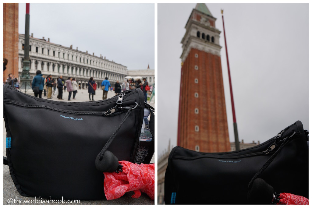 Travelon bag in Venice