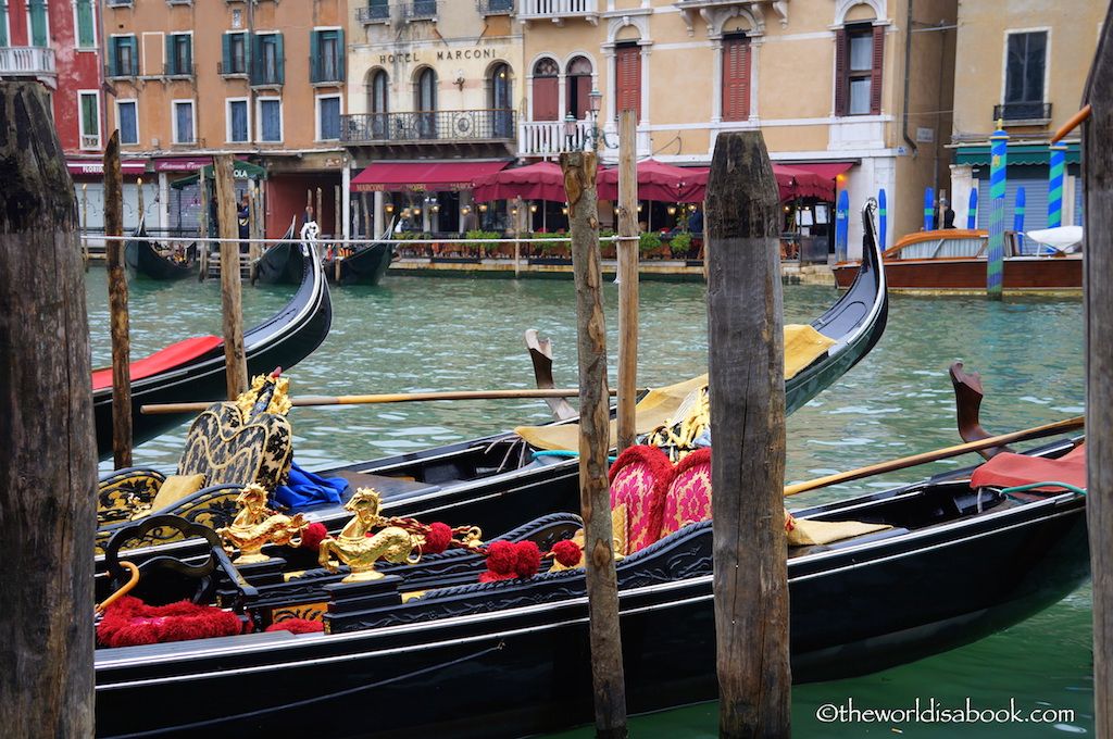 Venice ornate gondola
