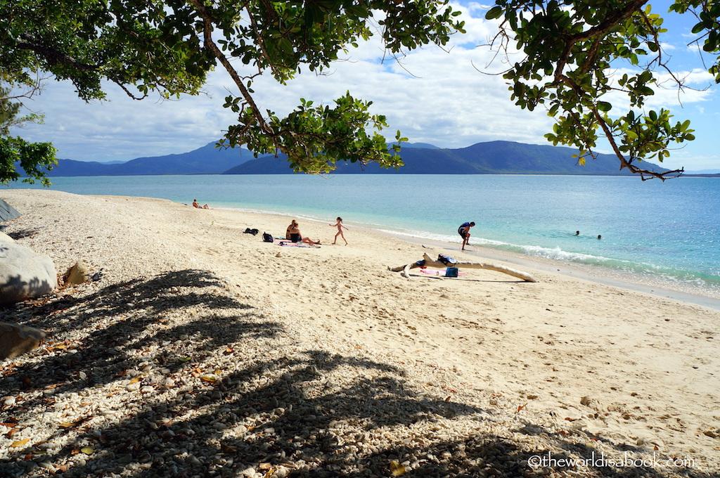 Fitzroy Island Nudey Beach