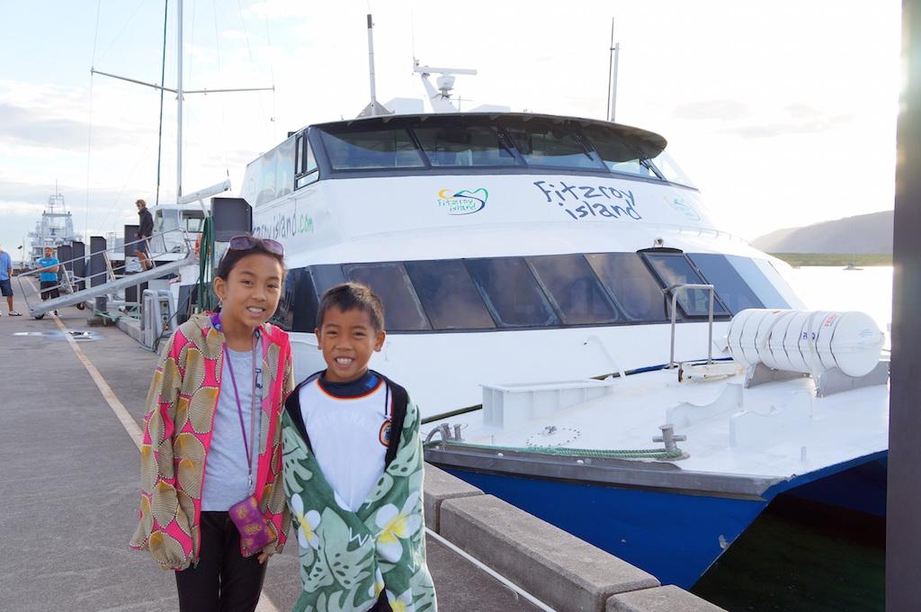 Fitzroy Island catamaran