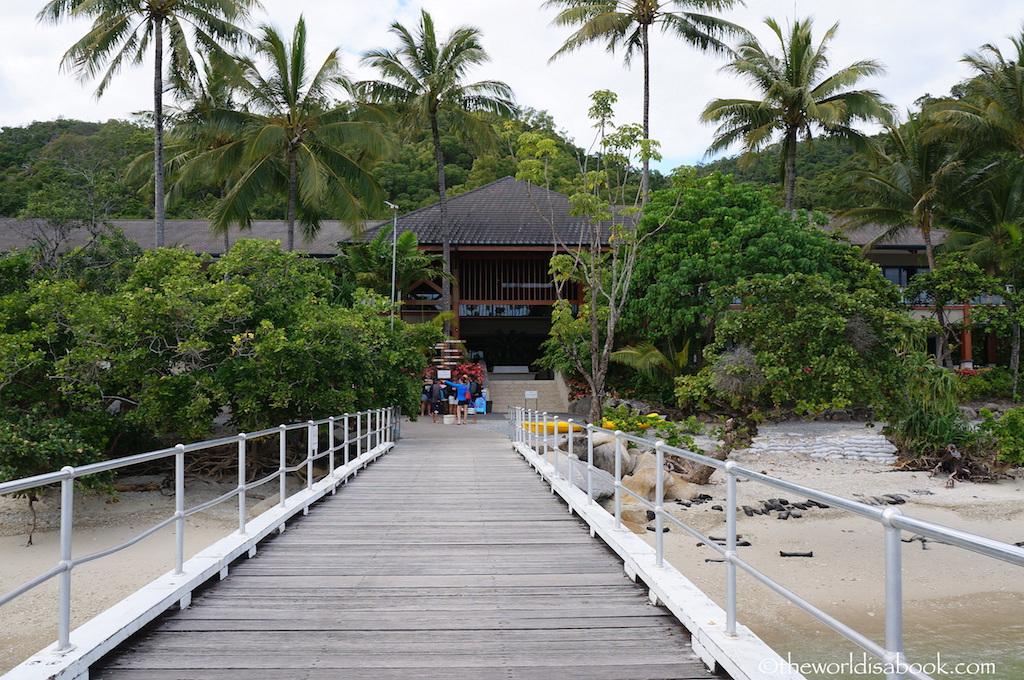 Fitzroy Island dock
