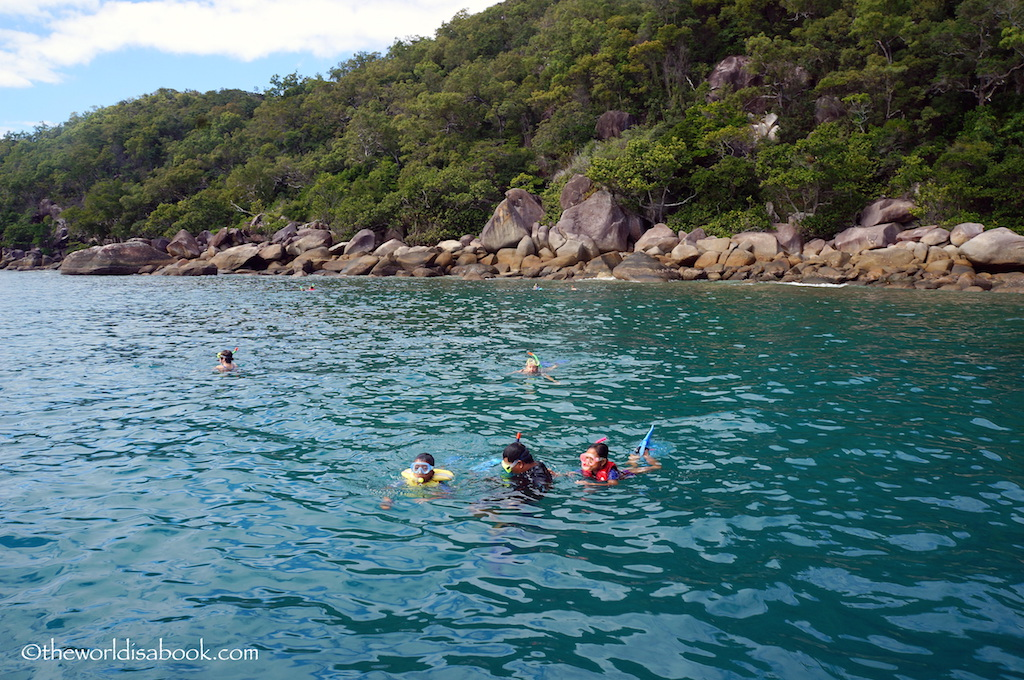 Fitzroy Island snorkeling