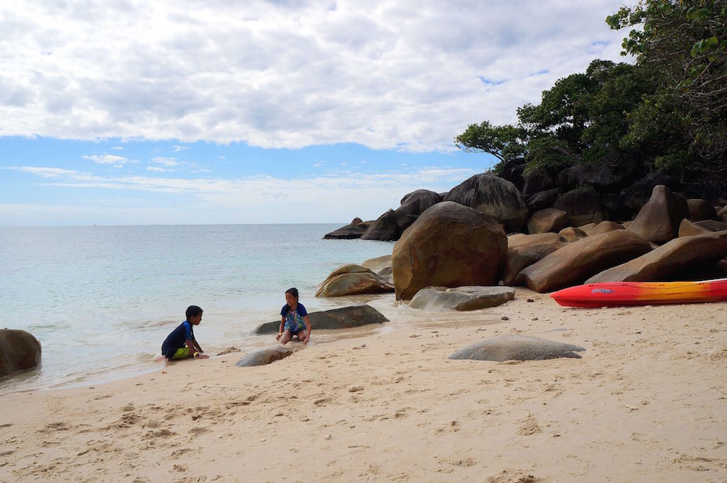 Fitzroy island with kids nudey beach