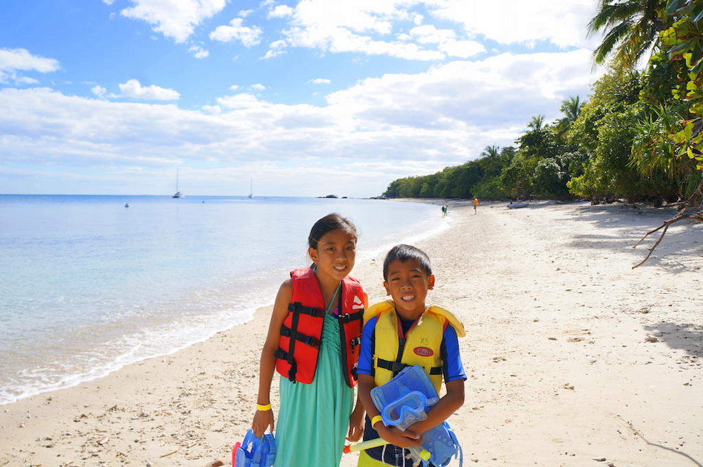 Fitzroy island with kids