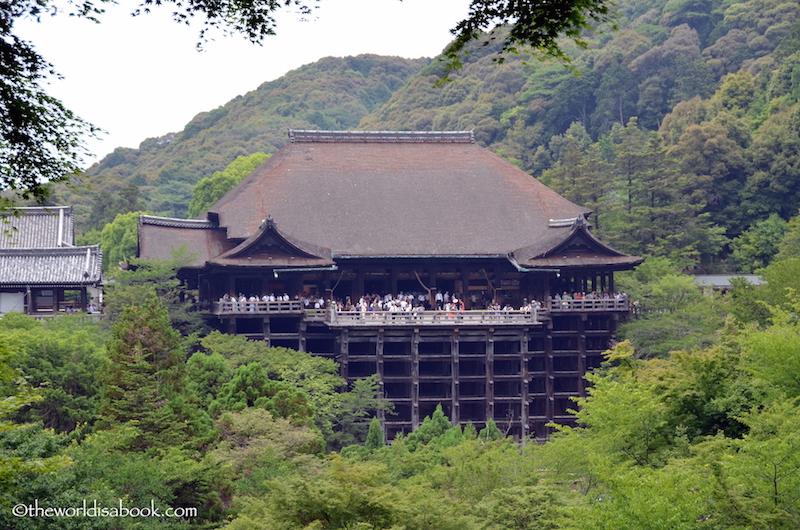 Kiyomizu-dera main hall kyoto
