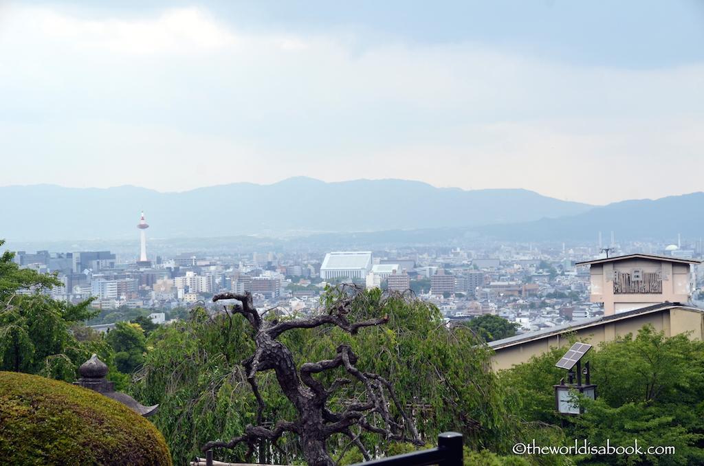 Kiyomizudera Kyoto view