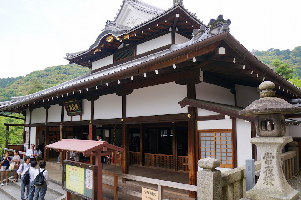 Kiyomizudera Structure