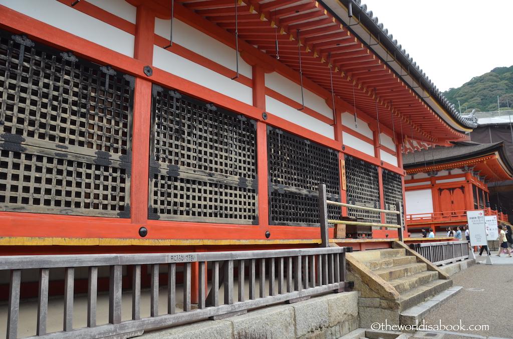 Kiyomizudera Temple structures