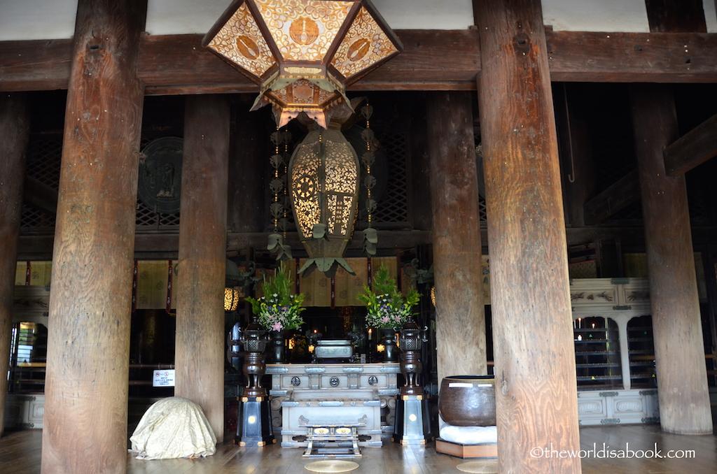 Kiyomizudera altar