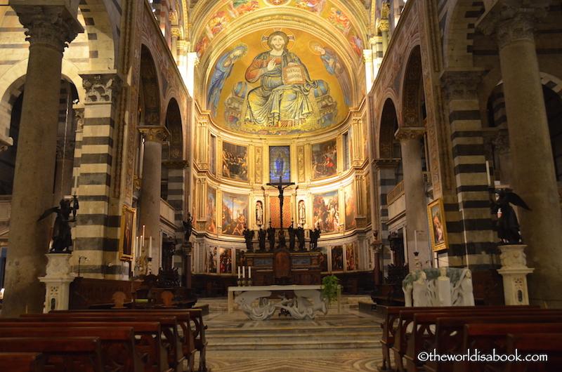 Pisa Cathedral altar
