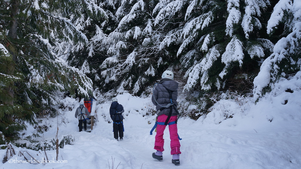 Whistler Ziptrek hike