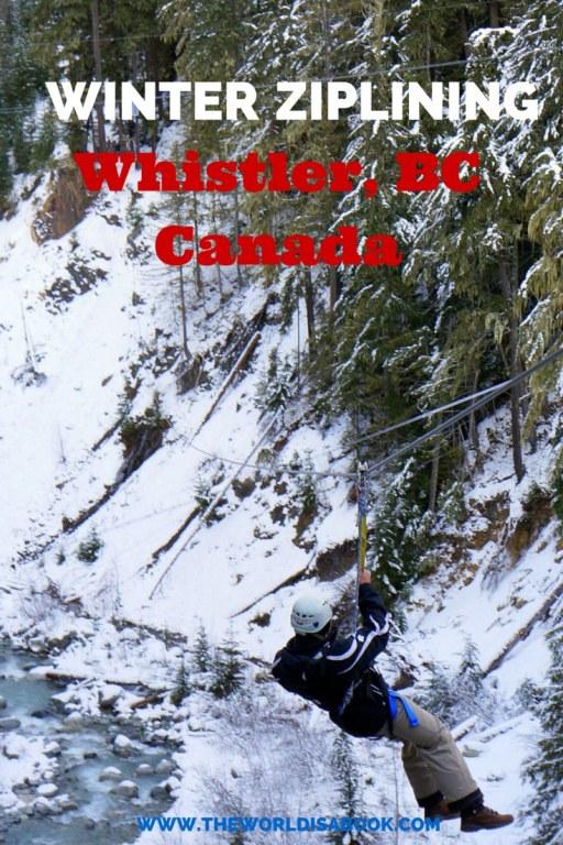 Whistler zipline ziptrek