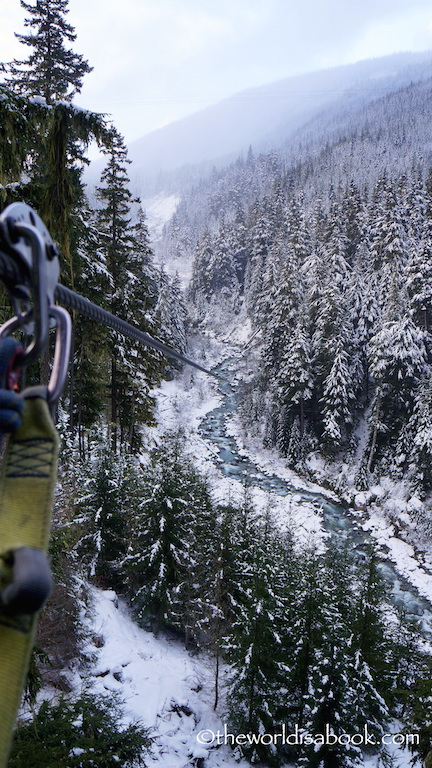 Ziptrek Whistler zipline view