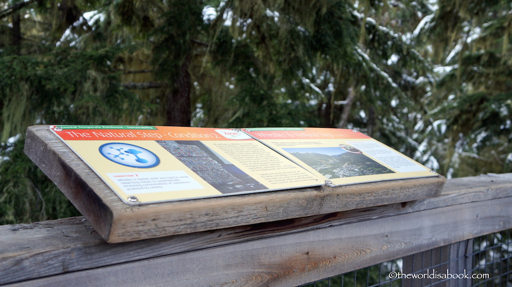 Ziptrek sustainability boards
