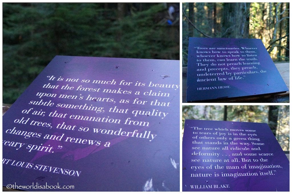 Capilano Natures Edge quotes