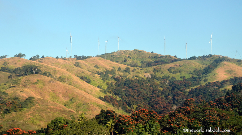 Fiji hillside