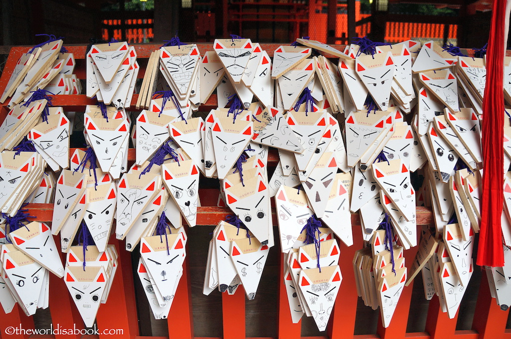 Fushimi Inari Shrine fox ema votives
