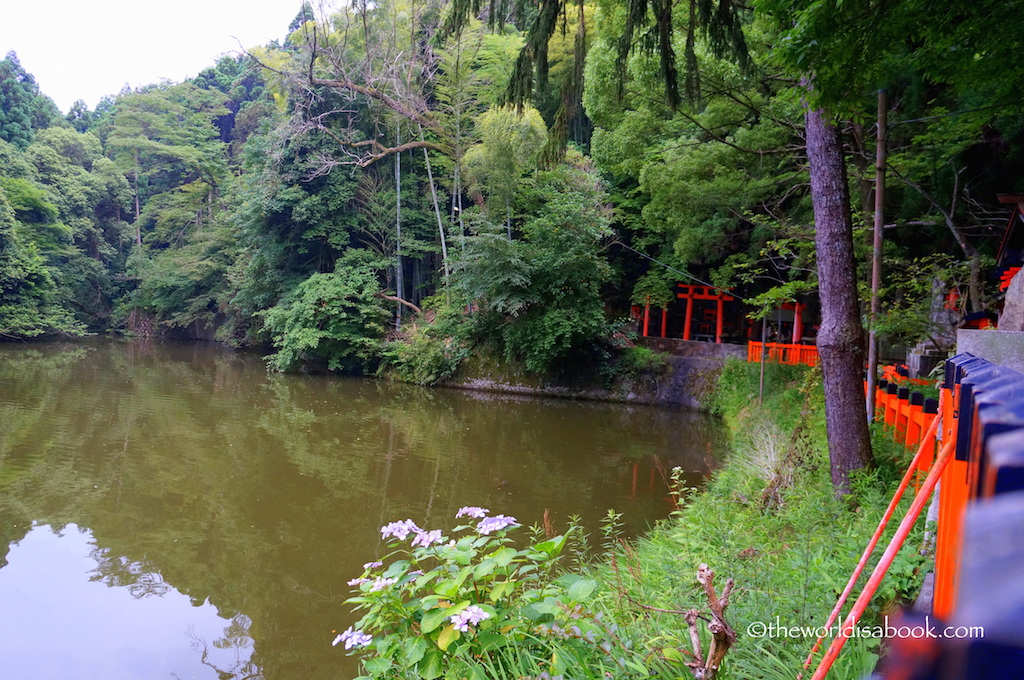 Fushimi Inari Shrine pond