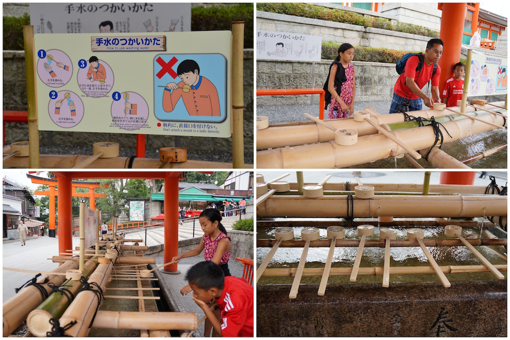 Fushimi Inari water ritual