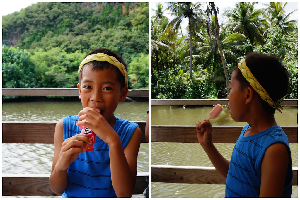 GUAM River Cruise ice cream
