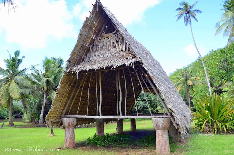 Guam Chamorro hut