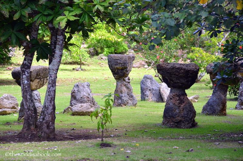 Guam latte stones