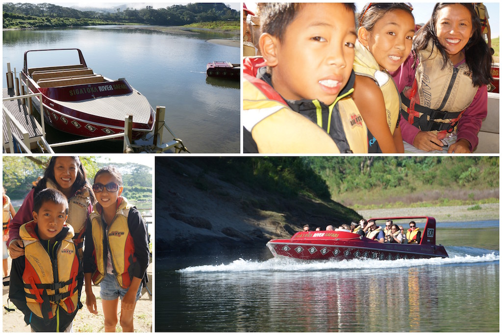 Sigatoka River safari with kids