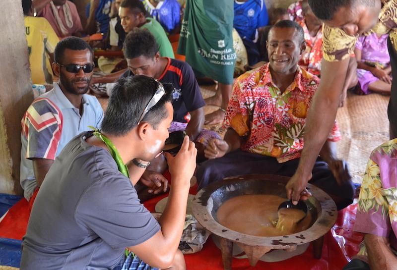Fiji Village visit Kava