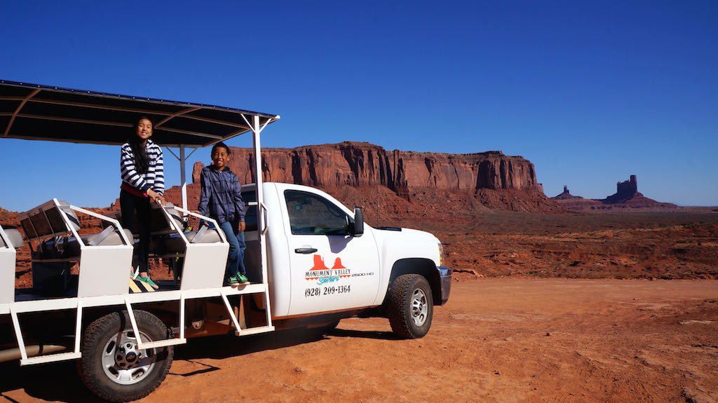 Monument Valley Safari truck