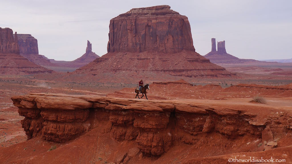 Monument Valley cowboy John Ford's POint