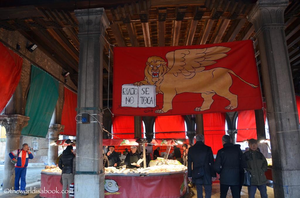 Venice Rialto Fish Market