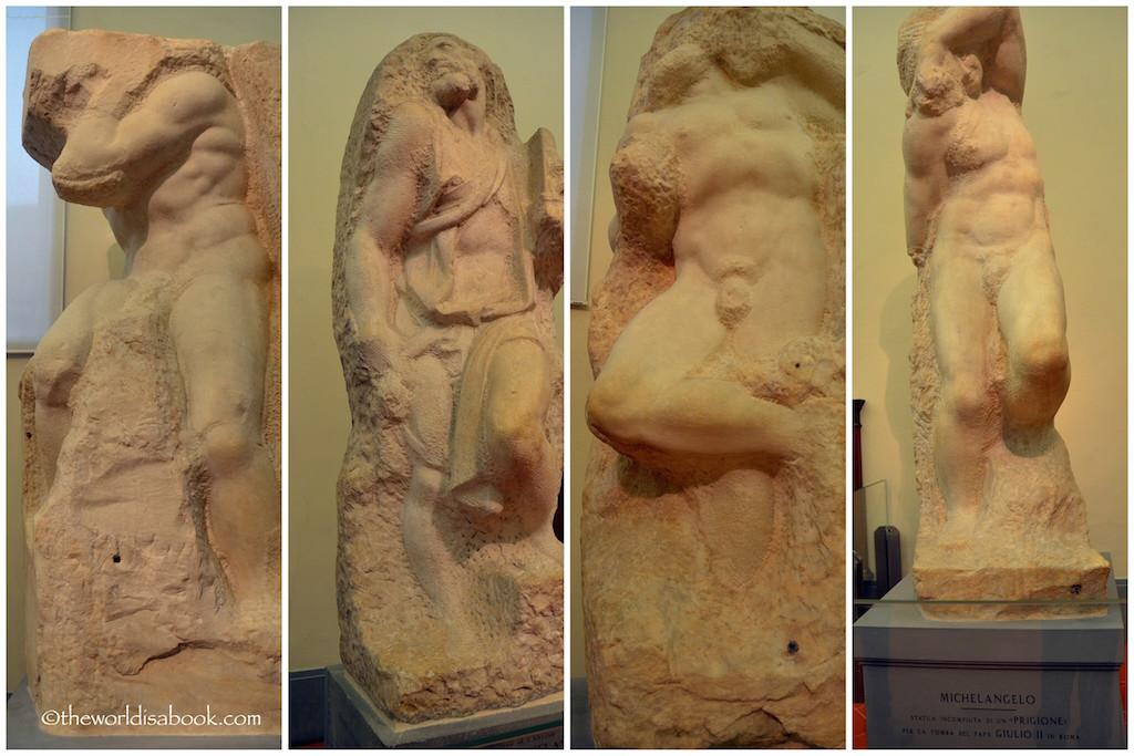 Florence Michelangelo Prisoners Slaves