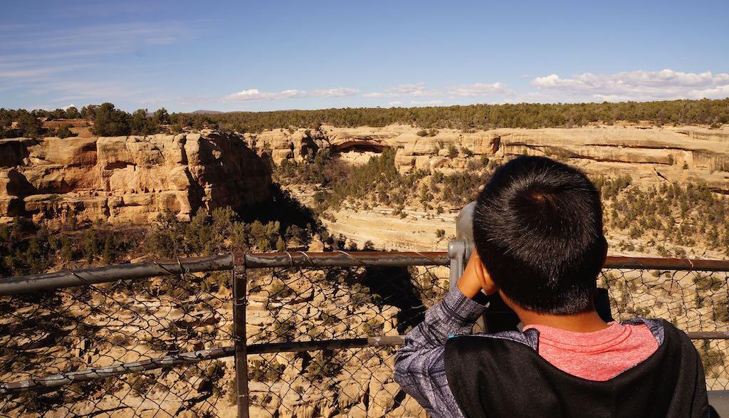 Mesa Verde Sun Point Overlook