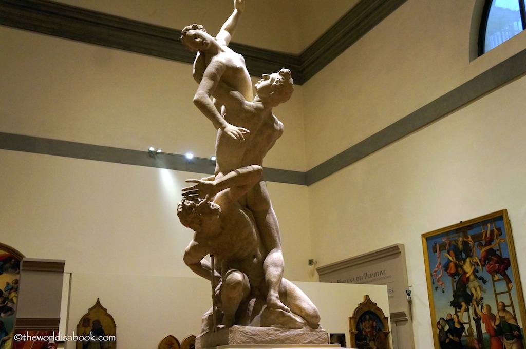 Rape of the Sabines Florence