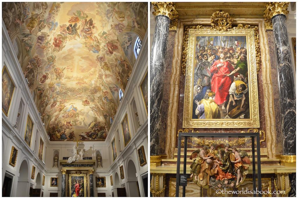 Toledo Cathedral El Greco El Expolio