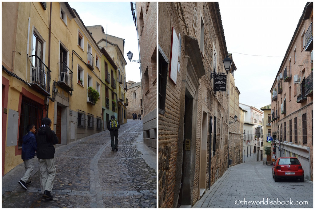 Toledo with kids Streets