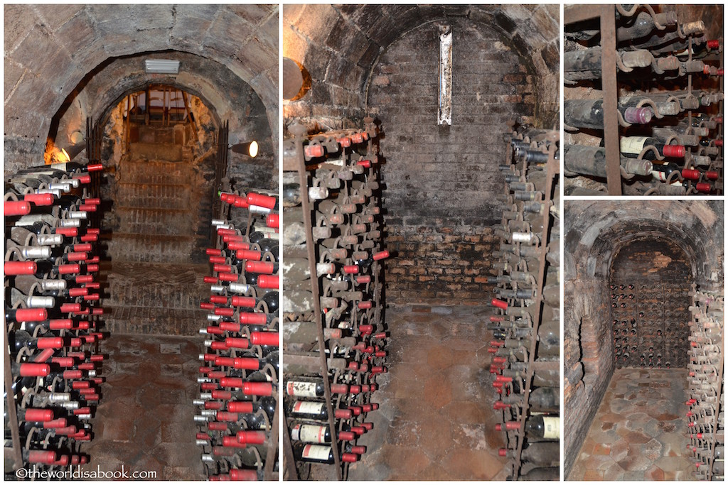 Botin wine cellar