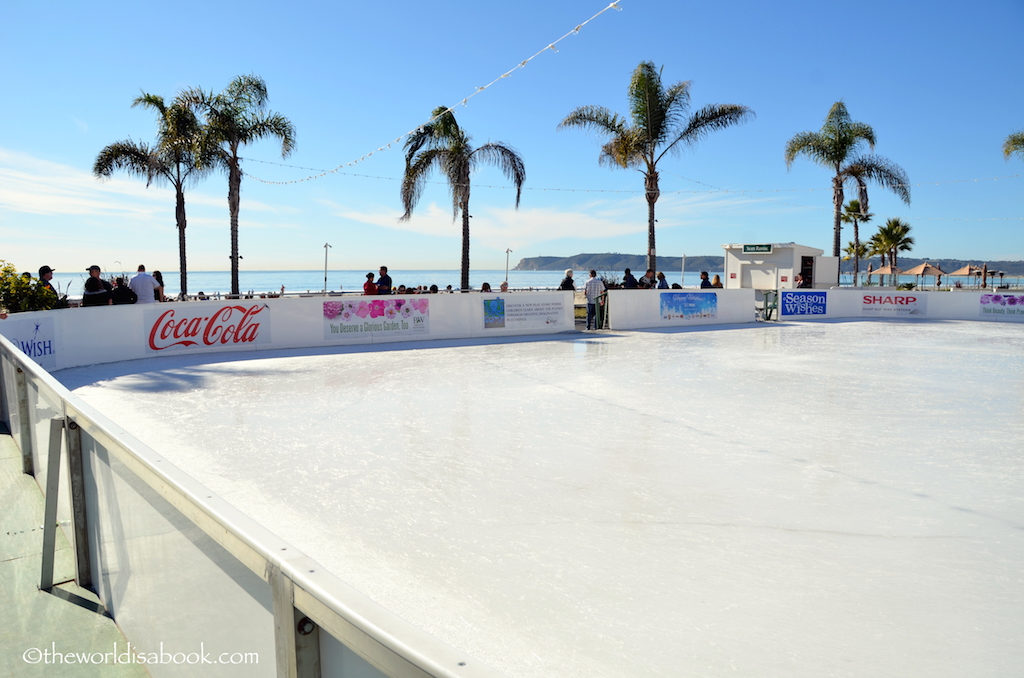 Coronado hotel ice skating